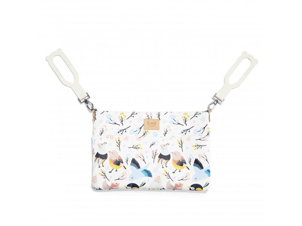 Luxusní organizér na kočárek La Millou Feeria Cute Birds