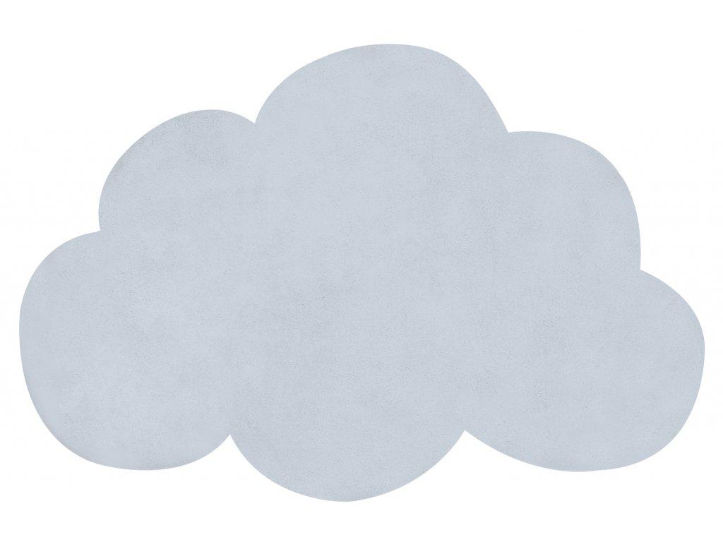 Dětský koberec LILIPINSO Baby blue
