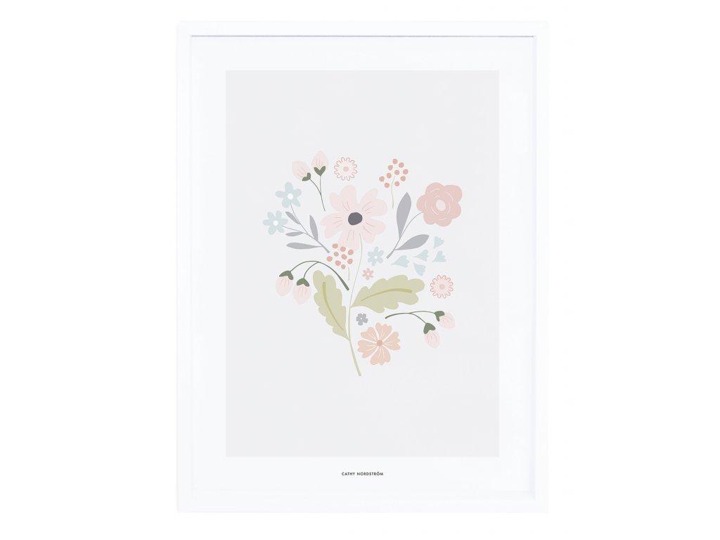 Zarámovaný plakát LILIPINSO Bloom bouquet with stems