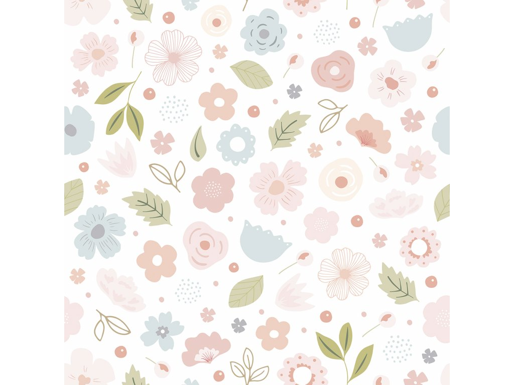 Tapeta LILIPINSO Flowers Bloom 50 cm x 10 m