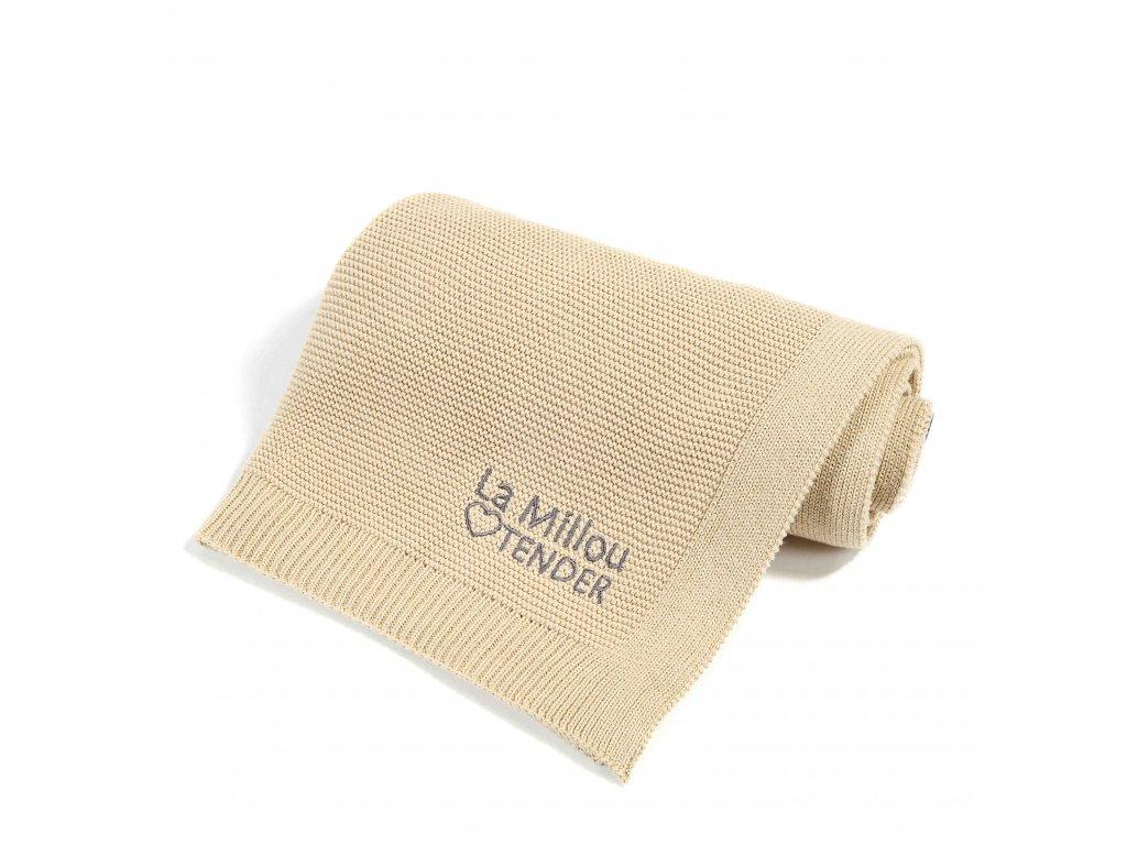 Luxusní pletená deka La Millou Cookies