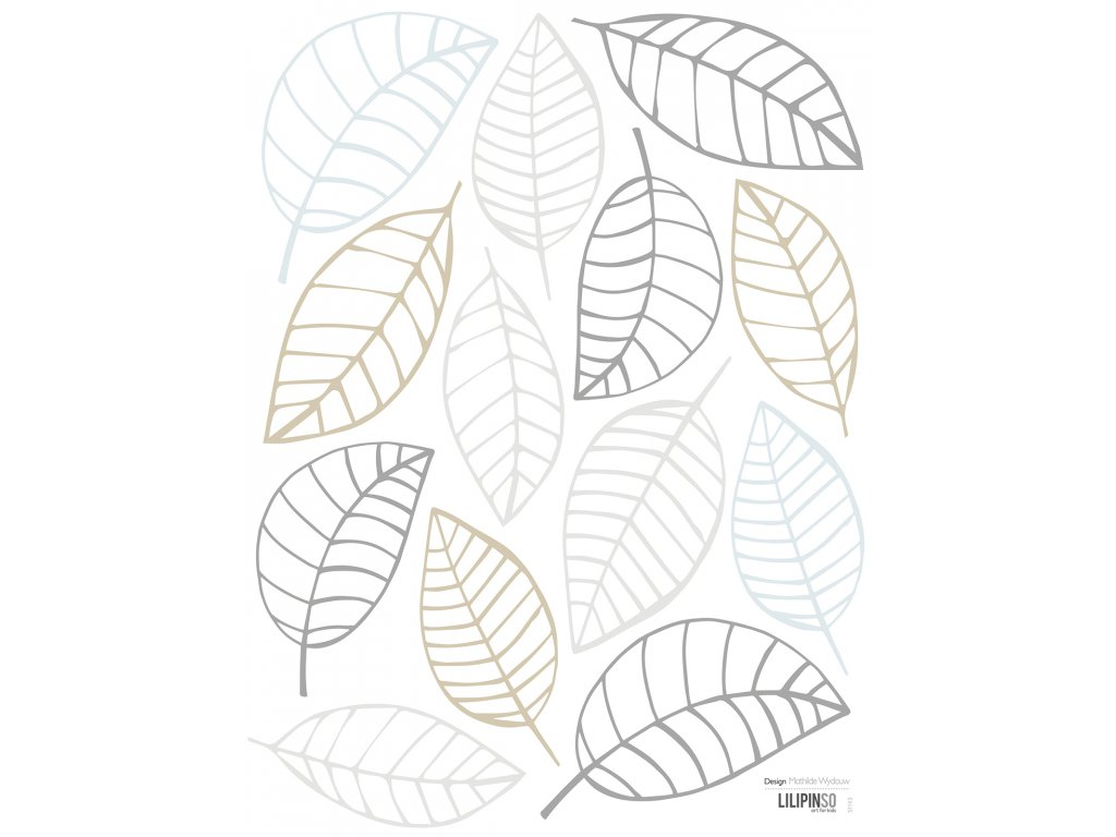 Samolepka LILIPINSO Leaves