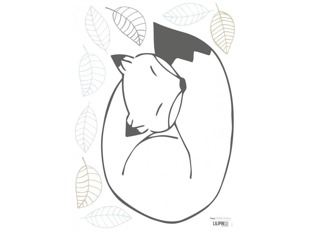 """Samolepka LILIPINSO Fox """"A3"""""""