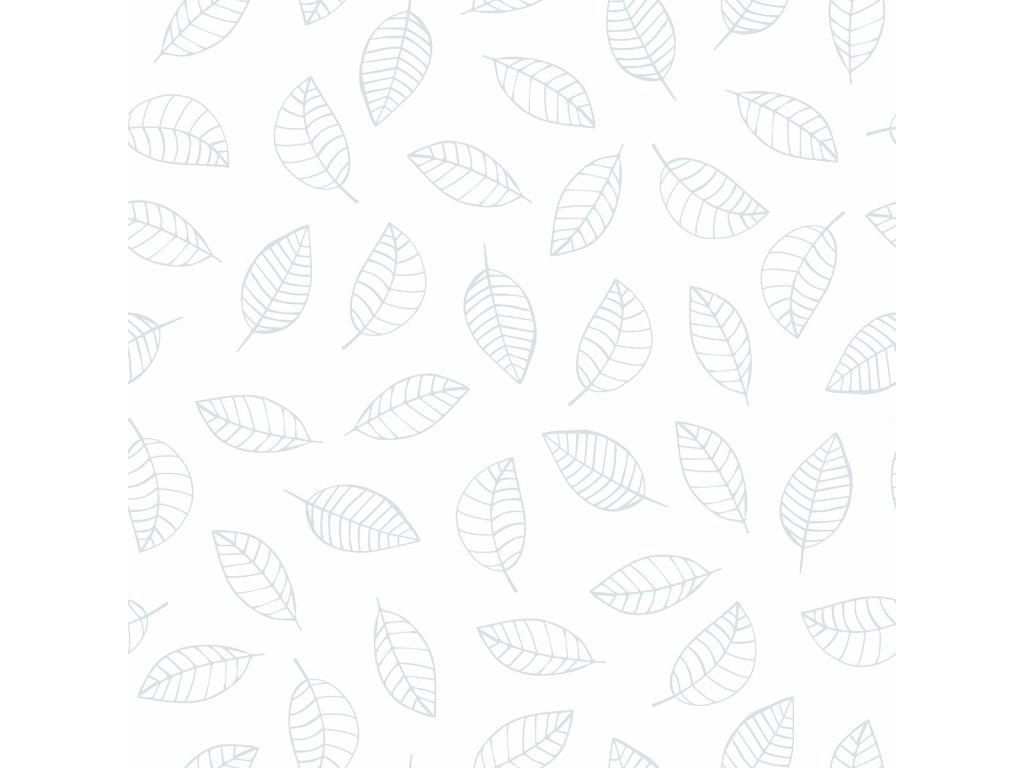 Tapeta LILIPINSO Leaves light blue 50 cm x 10 m