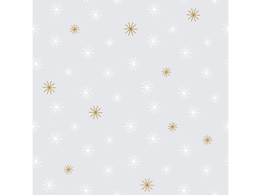 Tapeta LILIPINSO Snow flakes 50 cm x 10 m