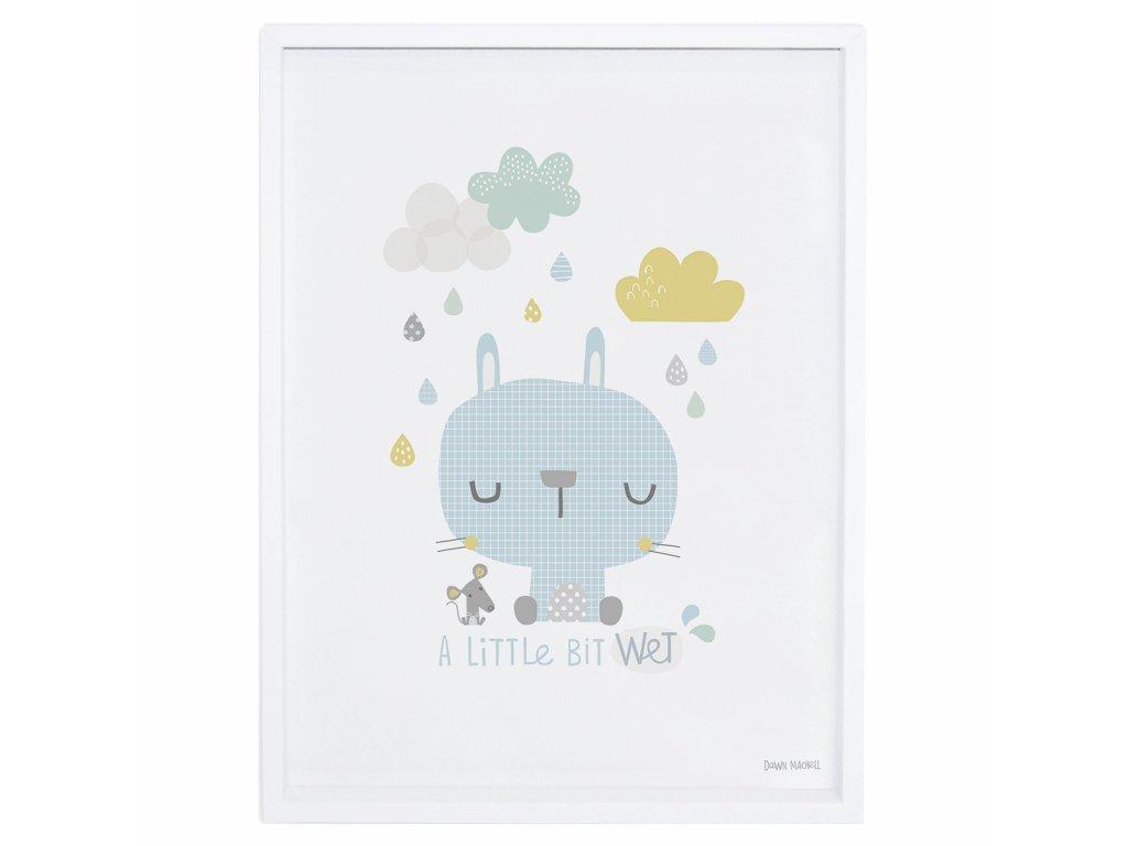 Zarámovaný plakát LILIPINSO Rabbit