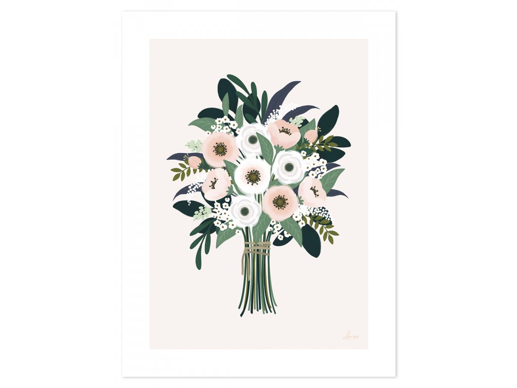 Plakát LILIPINSO Nice bouquet
