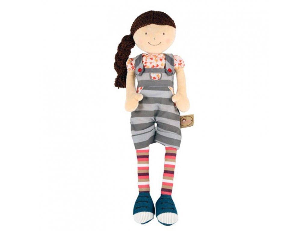 Látková panenka Bonnika holčička Julia 46 cm