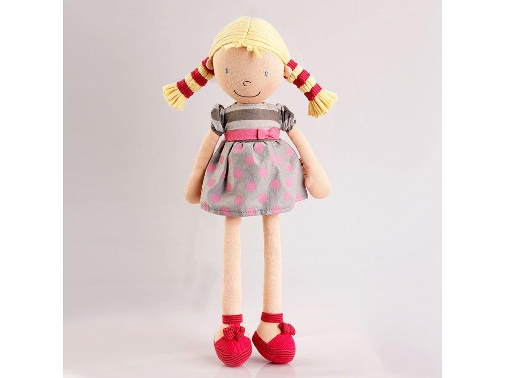 Látková panenka Bonnika holčička Ann 46 cm