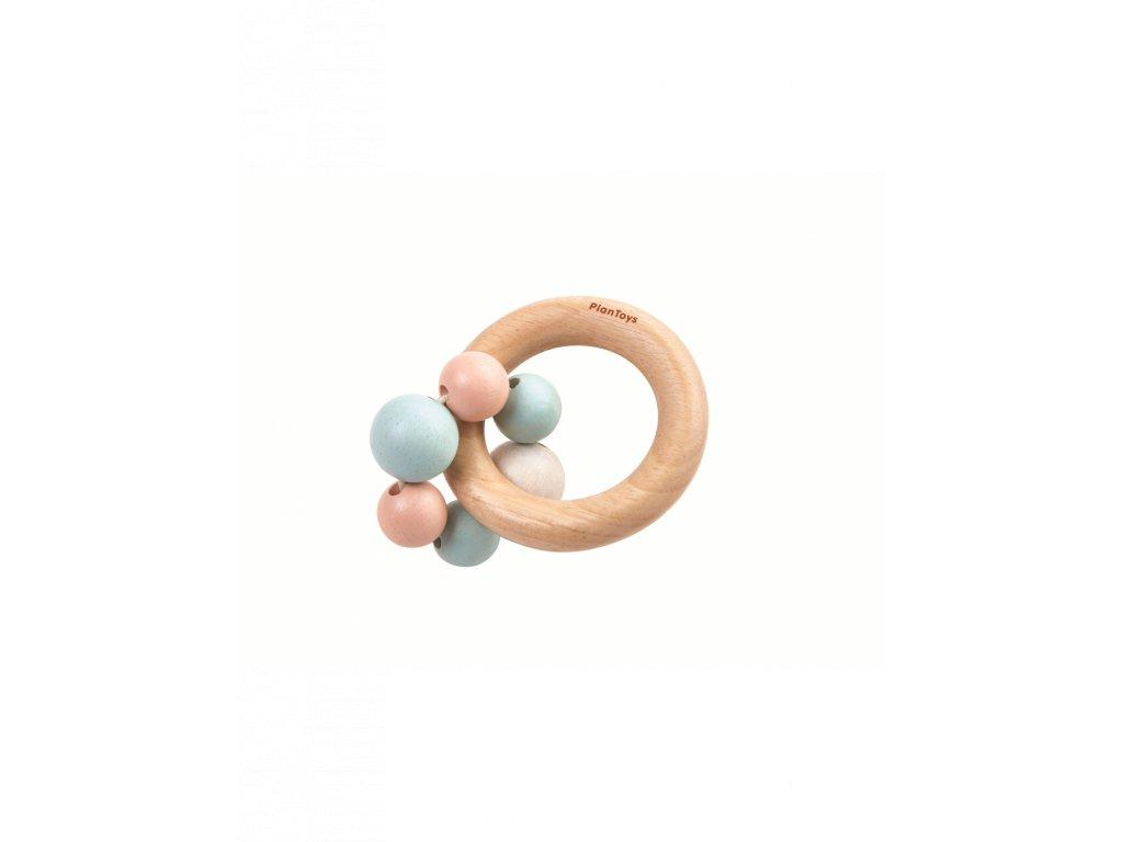 Chrastítko PLAN TOYS s kroužky