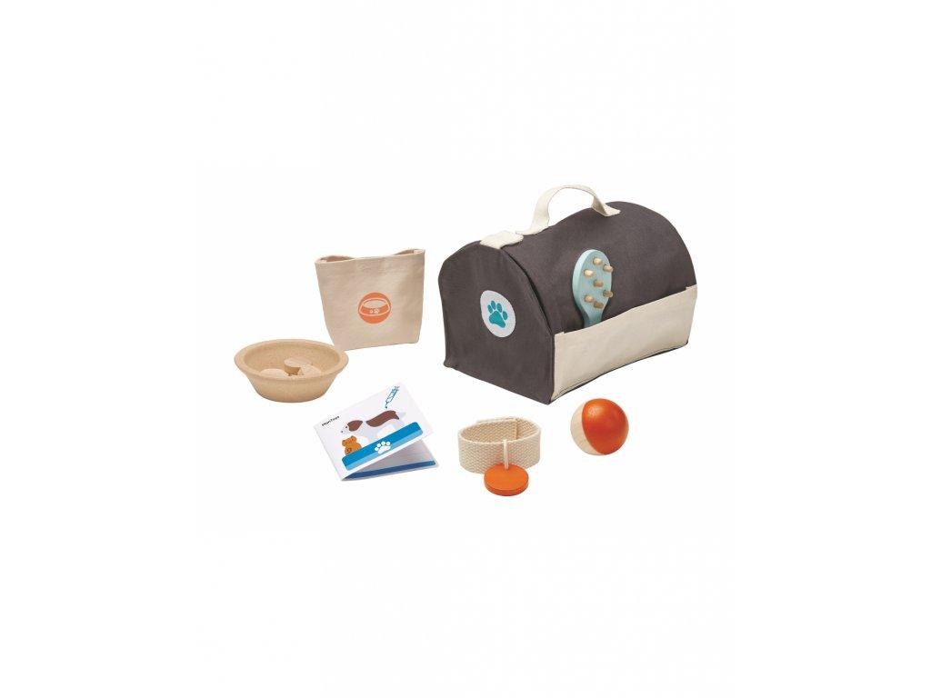 Set pro dětské domácí mazlíčky PLAN TOYS
