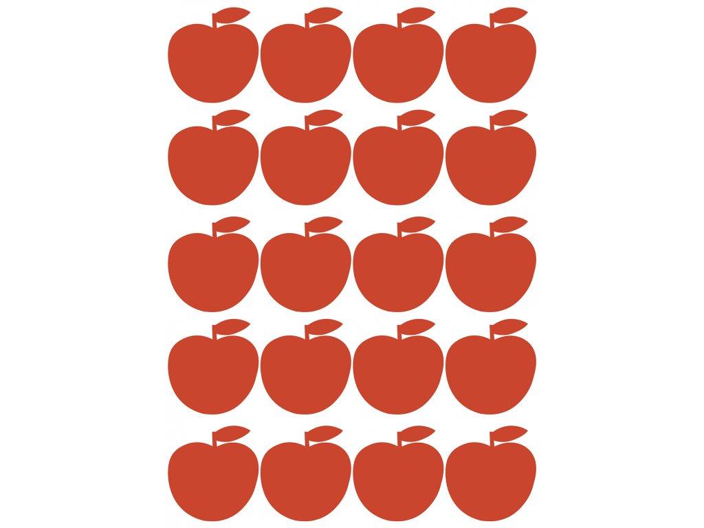 "Samolepka LILIPINSO Red Apples ""A3"""