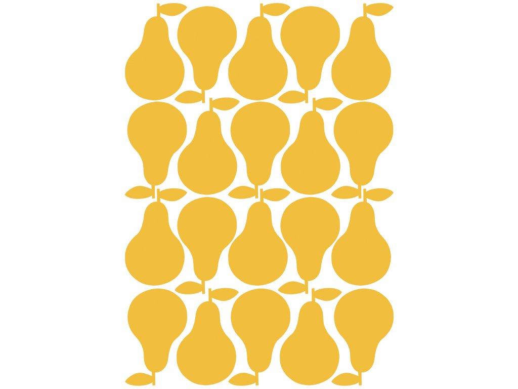 """Samolepka LILIPINSO Yellow pears """"A3"""""""