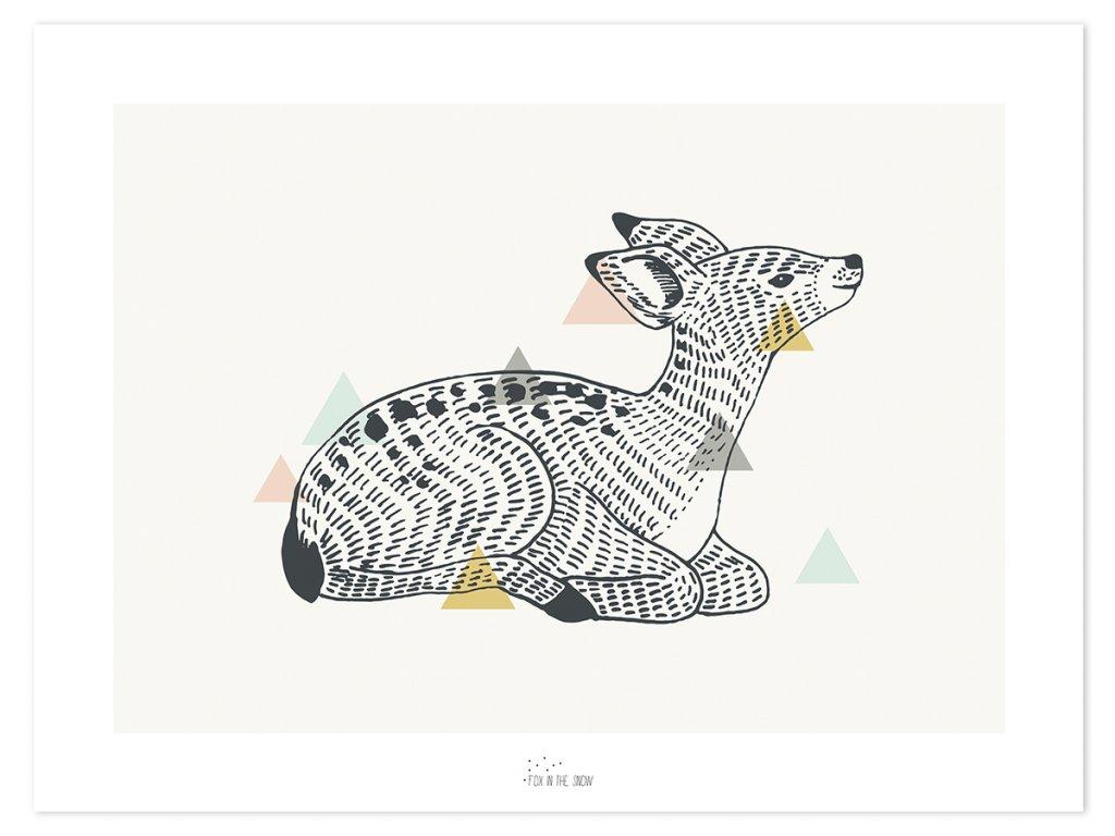 Plakat Lilipinso Enchanted deer