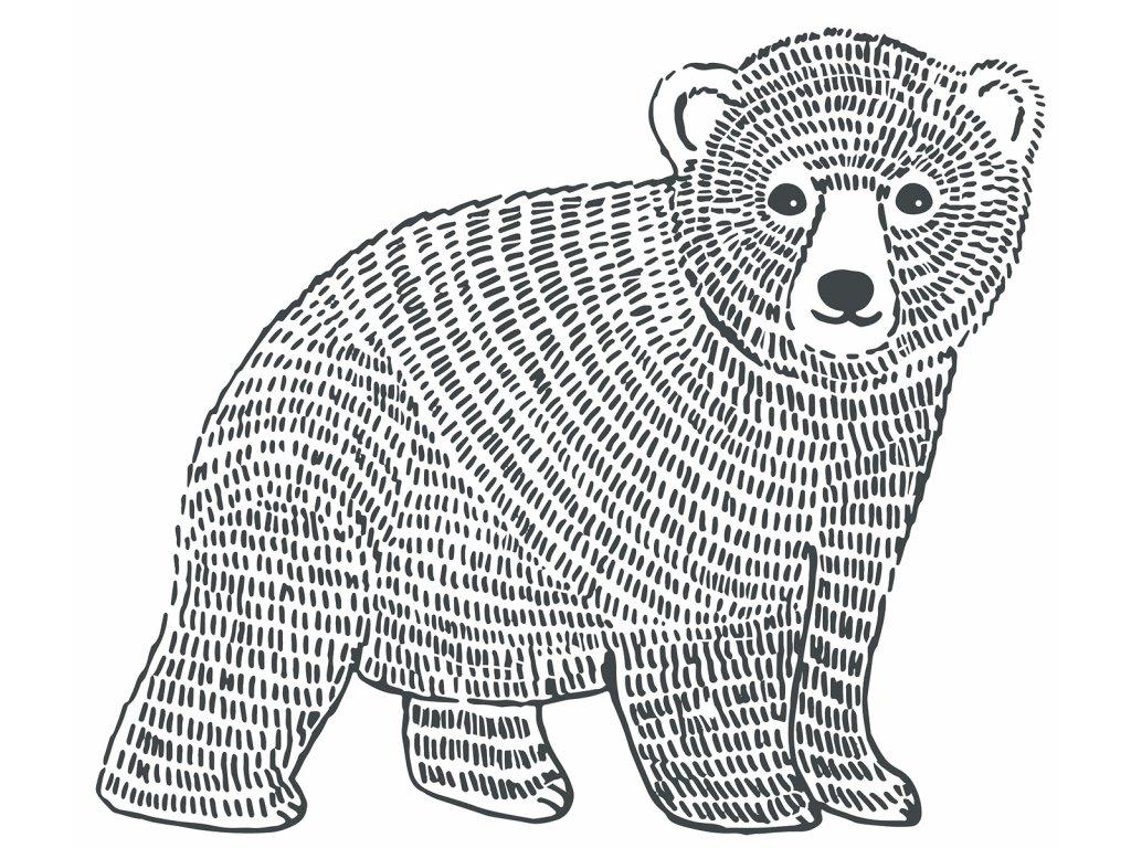 """Samolepka LILIPINSO Bear """"XL"""""""