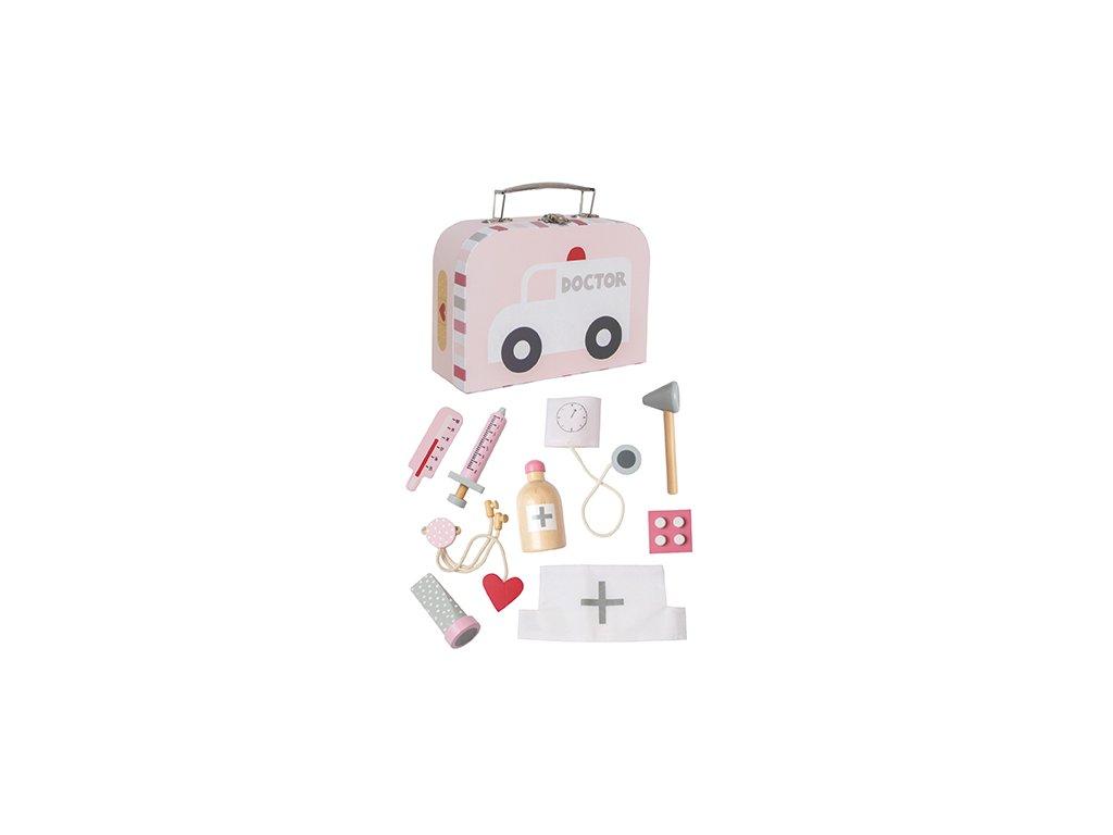 Doktorský kufřík JaBaDaBaDo růžový