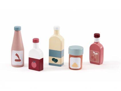 Láhve Kids Concept dřevěné 5 ks Bistro