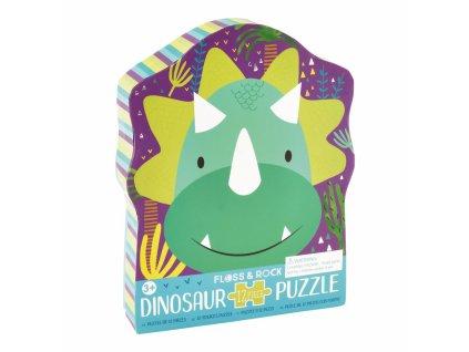 41P3663 flossrock puzzle dinosaurus 12ks