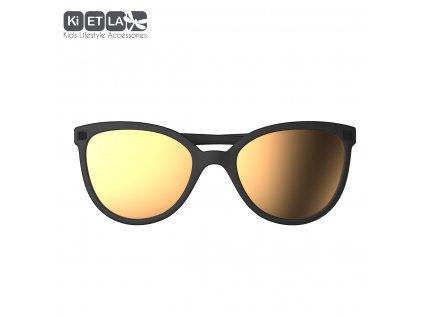 Sluneční brýle KiETLA CraZyg-Zag 6-9 let BuZZ černé zrcadlovky