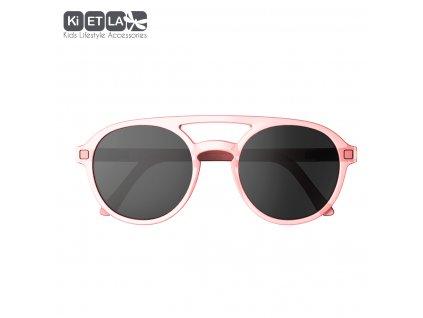 Sluneční brýle KiETLA CraZyg-Zag 6-9 let PiZZ růžové