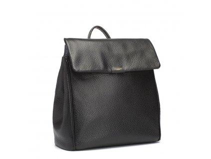 Přebalovací taška Storksak James Leather Black