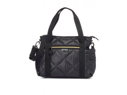 Přebalovací taška Babymel Cara Black Quilt