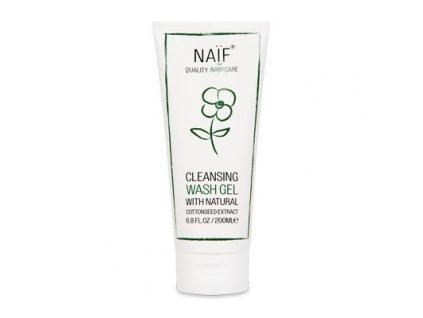Přírodní čisticí a mycí gel Naif pro děti a miminka