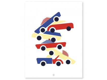 Plakát LILIPINSO Cars