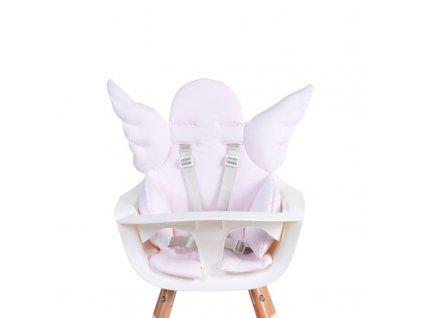 Sedací podložka do dětské židličky Childhome Angel Jersey Old Pink