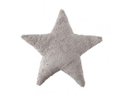 Polštář ve tvaru hvězdy Lorena Canals Light grey