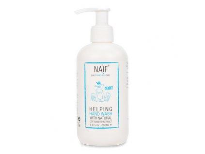Hydratační mýdlo Naif na namáhané ruce pro rodiče a děti přírodní