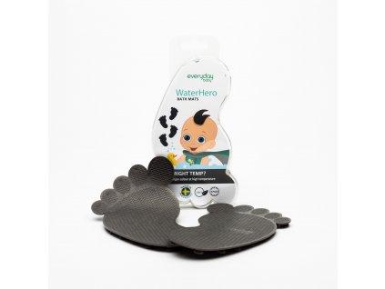 Protiskluzové ťapky Everyday Baby senzor 4ks grey