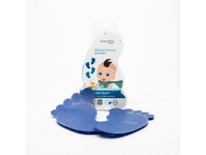 Protiskluzové ťapky Everyday Baby senzor 4ks blue