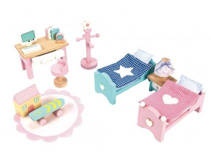Le Toy Van Nábytek do domečku Daisylane dětský pokoj