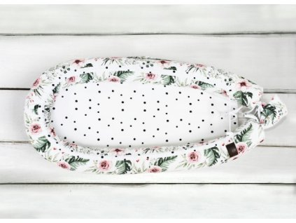 Sleepee Hnízdečko pro miminko Newborn Feel luční kvítí