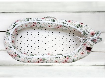 Sleepee Hnízdečko pro miminko Maxi květiny