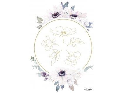 S1388 A3 anemone miroir