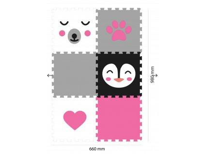 Screenshot 2019 09 17 Minideckfloor podlaha 6 dílů medvěd, tučňák, srdce a tlapka Pěnové hračky