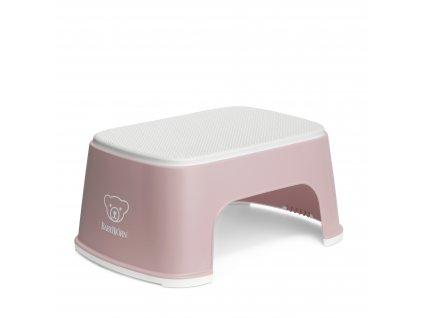 Babybjorn Stupátko Powder Pink/White
