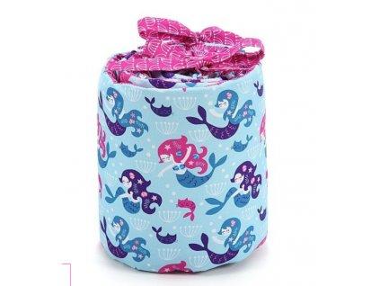 Ochranný mantinel do postýlky La Millou Pinky mermaid