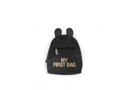 Childhome Dětský batoh My First Bag Black