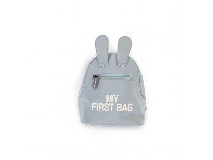 Childhome Dětský batoh My First Bag Grey