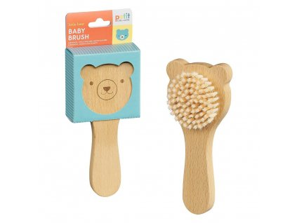 Petitcollage Dětský kartáč medvídek