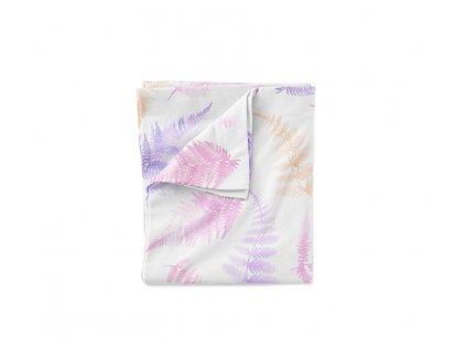 fern bedding pink