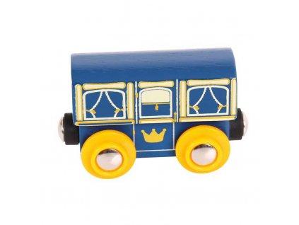 Bigjigs Rail Královský vagónek