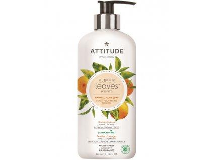 Přírodní mýdlo na ruce ATTITUDE Super leaves s detoxikačním účinkem