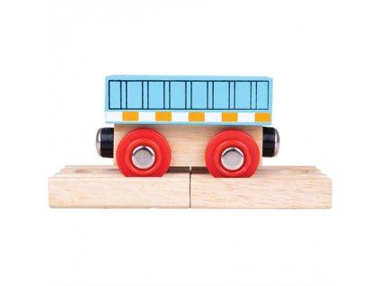 Bigjigs Rail Vagón modrý