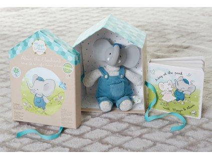 Dárkový set DELUXE Meiya & Alwin sloník Alvin