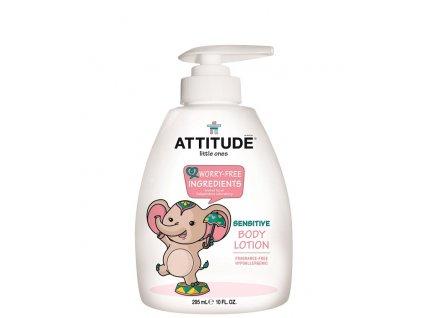 Dětské tělové mléko ATTITUDE vůně bez vůně
