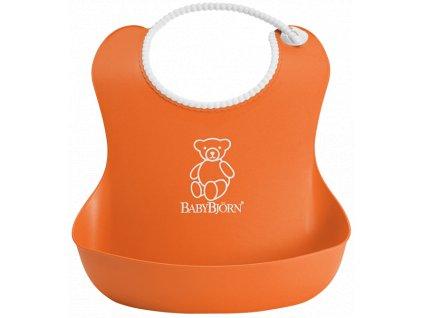 Bryndák BabyBjörn měkký Soft Orange